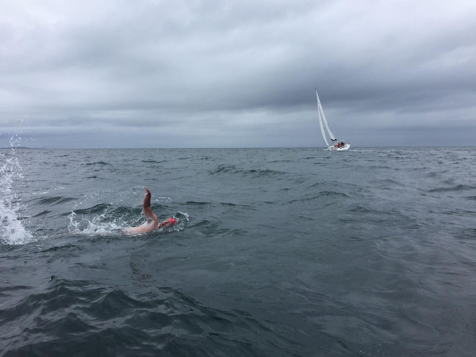 Oceans 7 swimmer Jonathan Ratcliffe