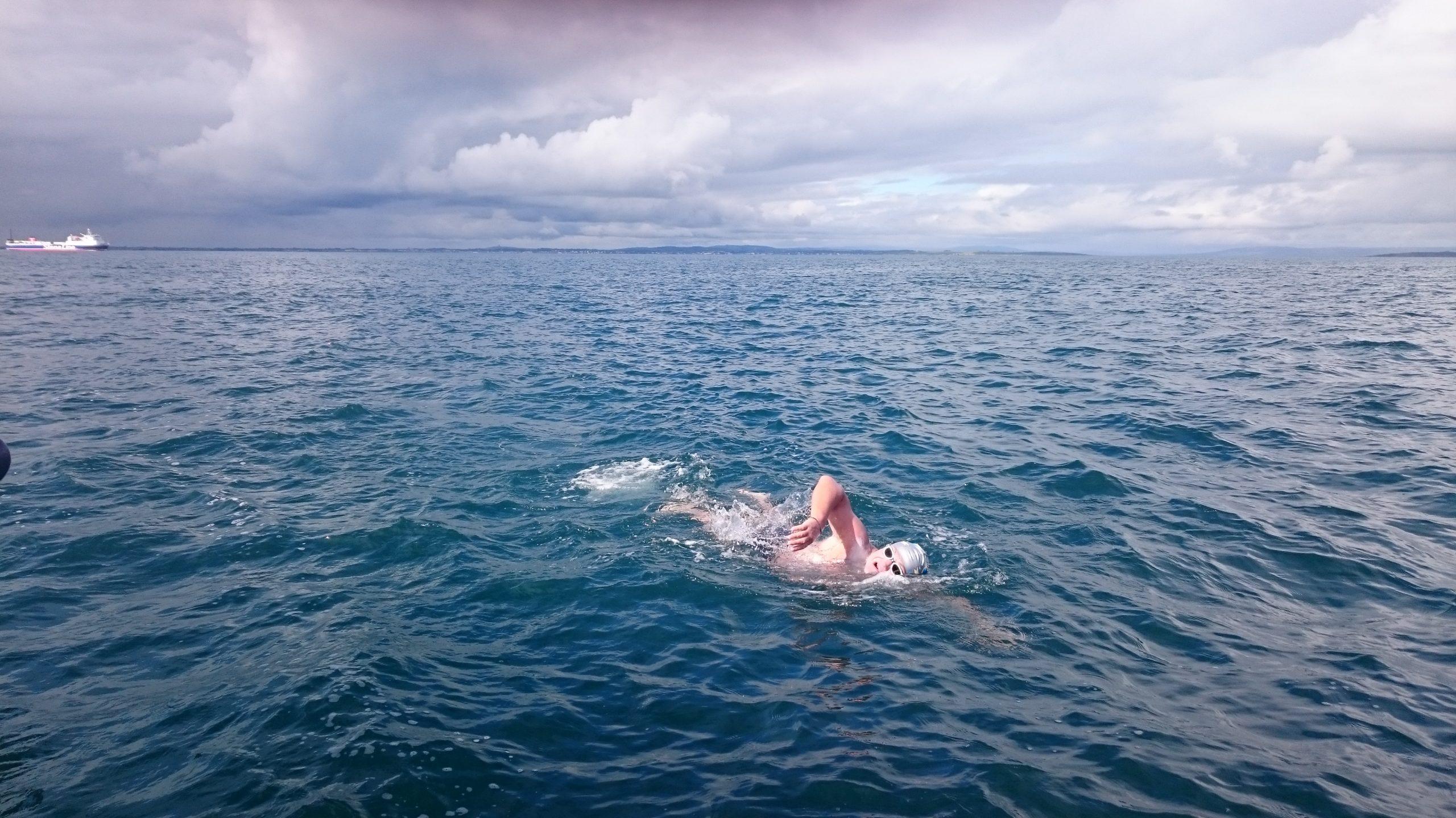 Oceans 7 swimmer Ion Lazarenco Tiron